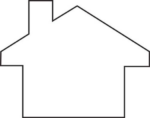 free blank house cliparts