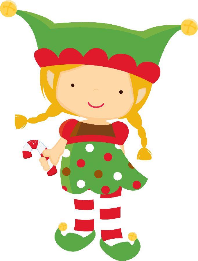 Christmas Elf Clipart Girl Clip Art Library
