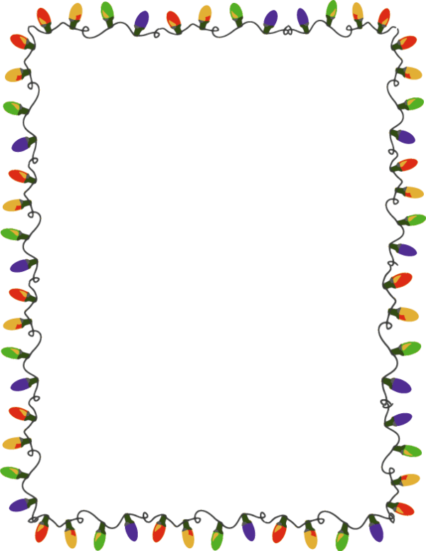 free christmas cliparts border