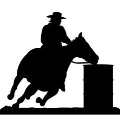 girl barrel racer clipart barrel [ 1024 x 1024 Pixel ]