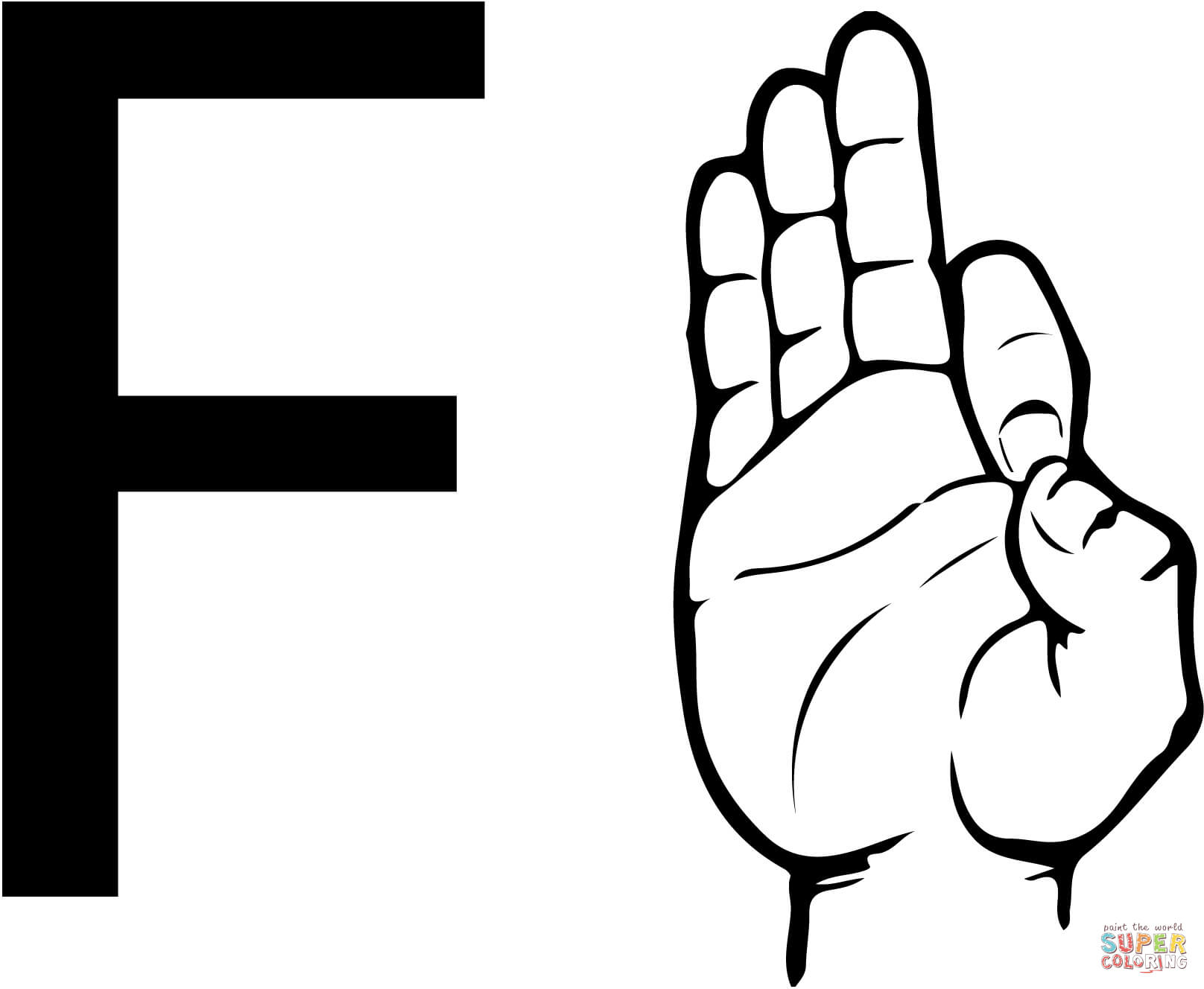 Free Asl Alphabet Cliparts Download Free Clip Art Free