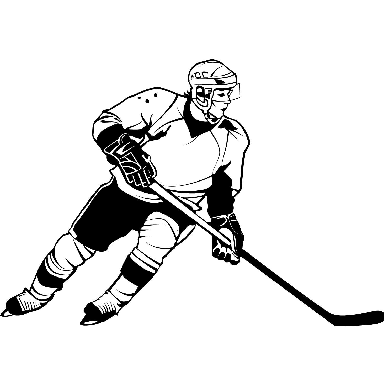 hight resolution of clipart hockey