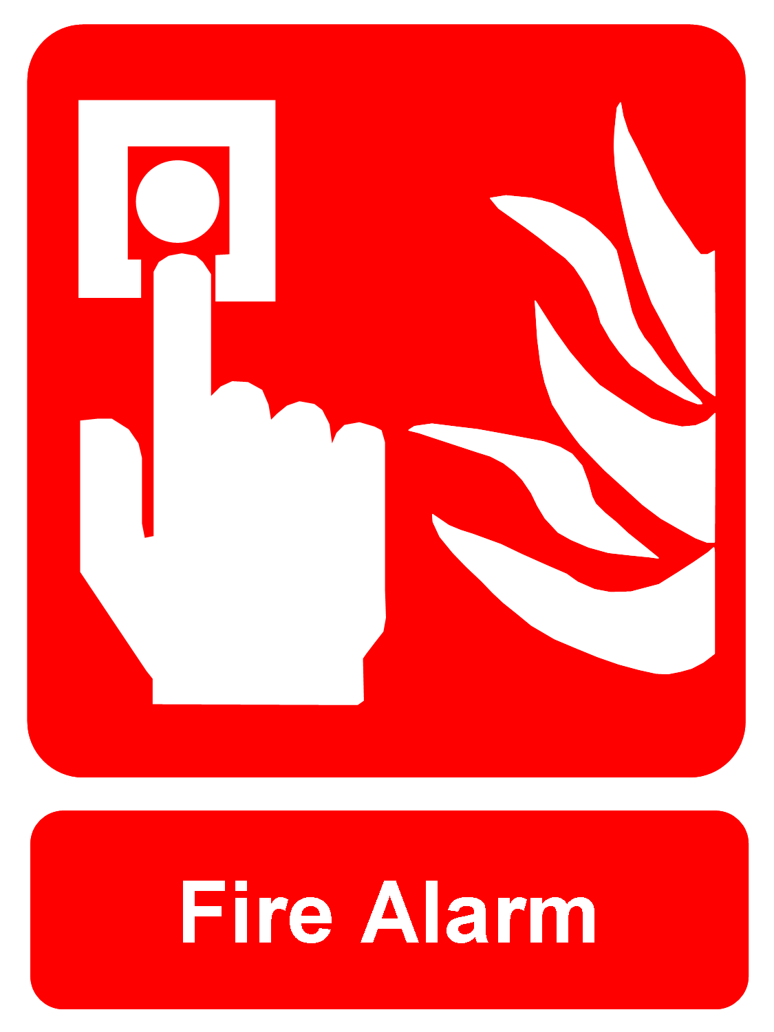 hight resolution of fire alarm clipart