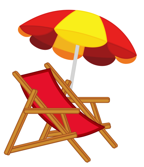 small resolution of beach chair and umbrella free clipart