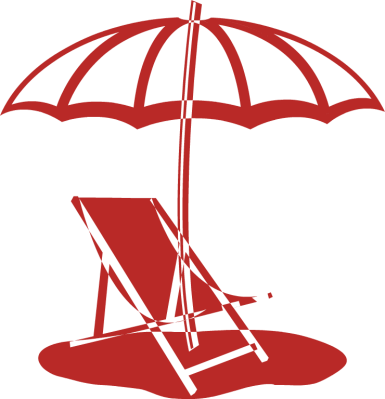 beach chair and umbrella clipart high back gaming chairs free cliparts download clip art
