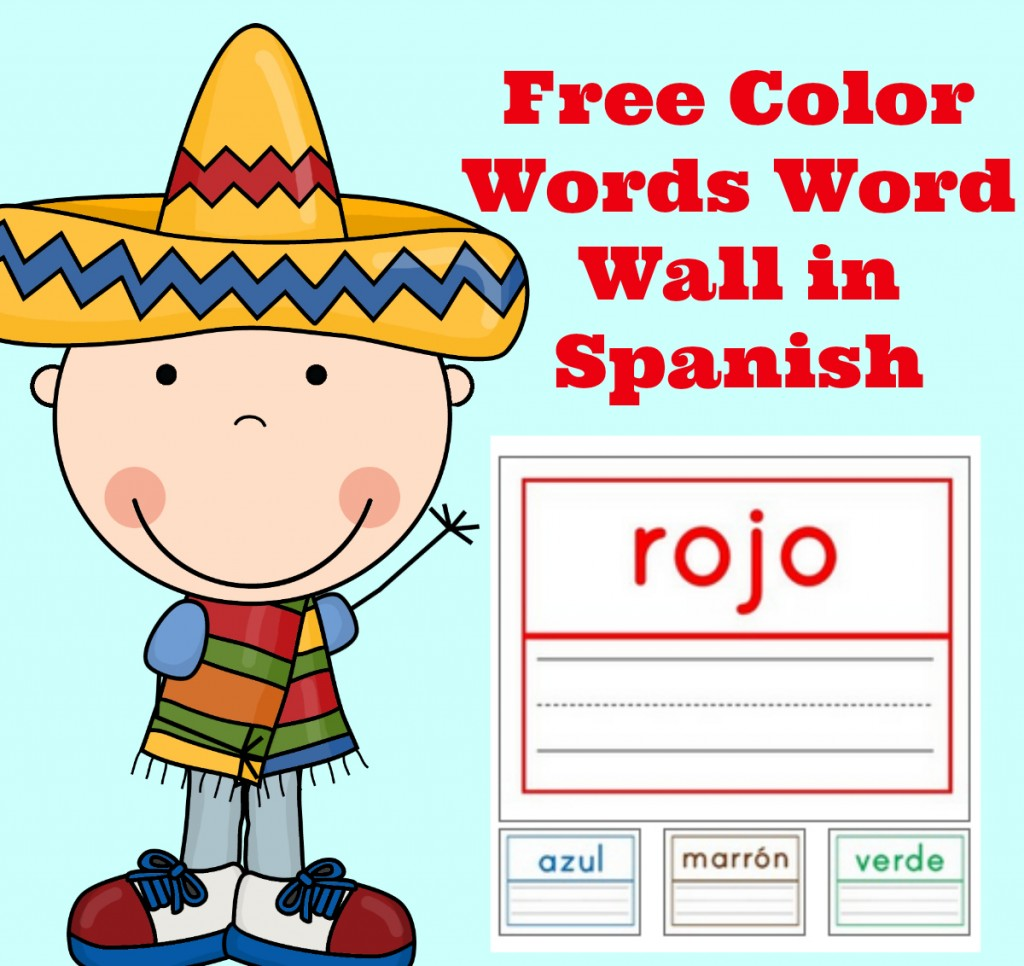 Spanish Words Clipart