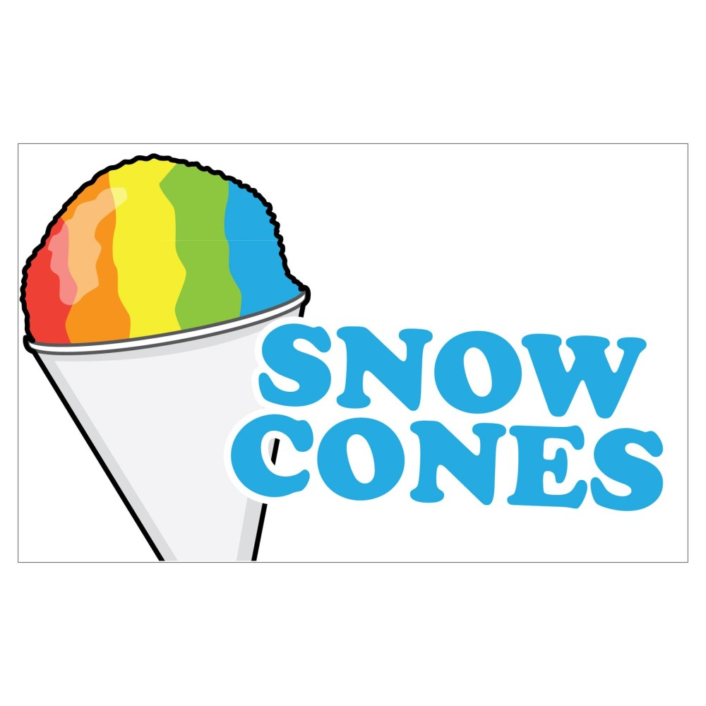 medium resolution of snow cone clipart