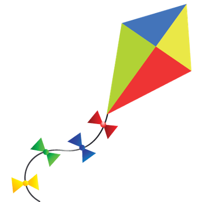 free kite flying cliparts