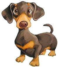 free dachshund puppy cliparts