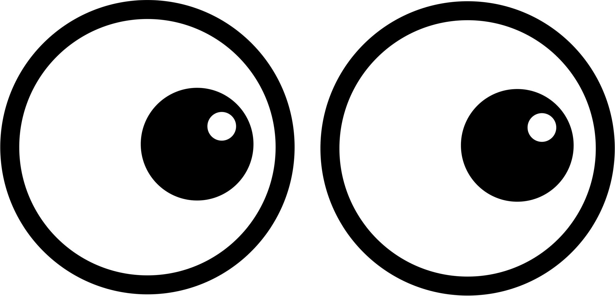 hight resolution of cartoon eye image