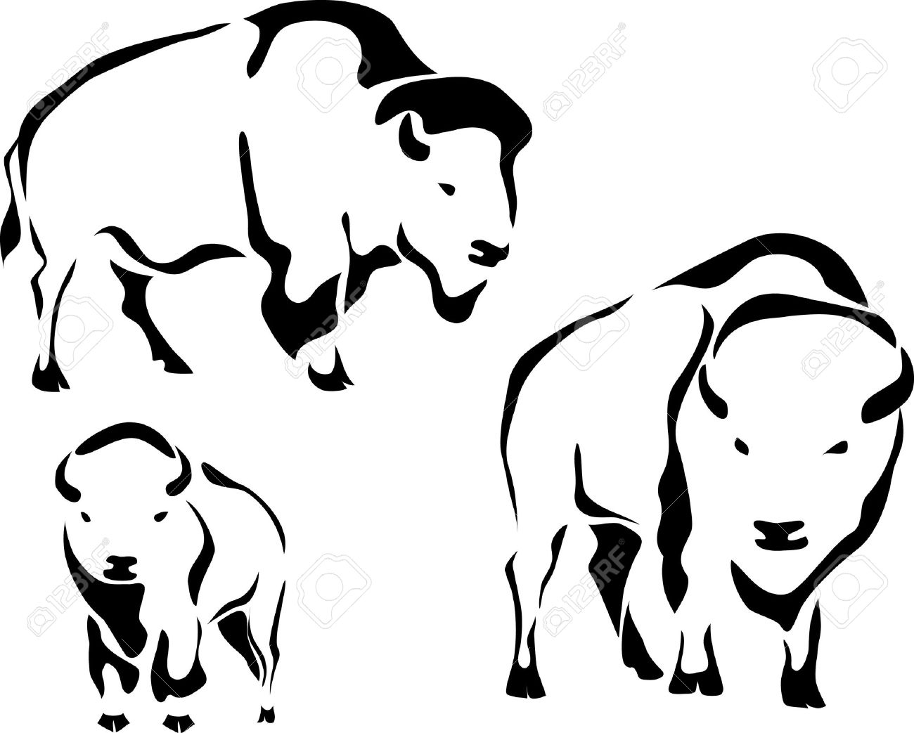 Free Cartoon Bison Cliparts Download Free Clip Art Free