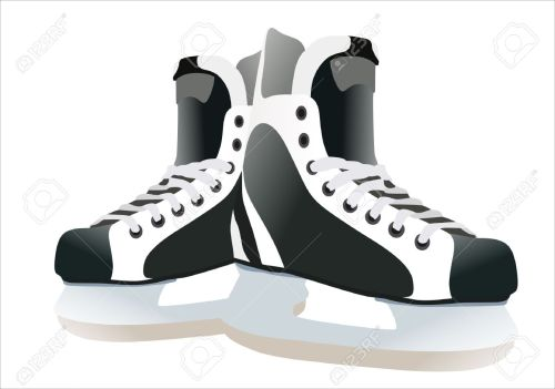 small resolution of hockey skates clipart