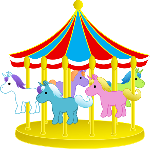 small resolution of carousel horse clipart