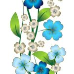 Free Blue Flower Cliparts Download Free Clip Art Free Clip Art On Clipart Library