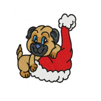 free dogs christmas cliparts