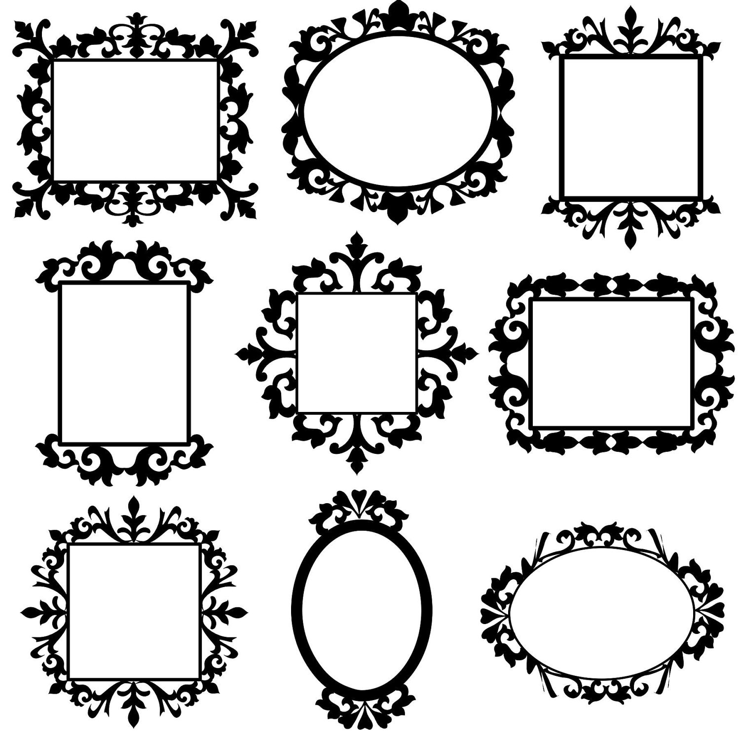Free Decorative Frames Cliparts Download Free Clip Art
