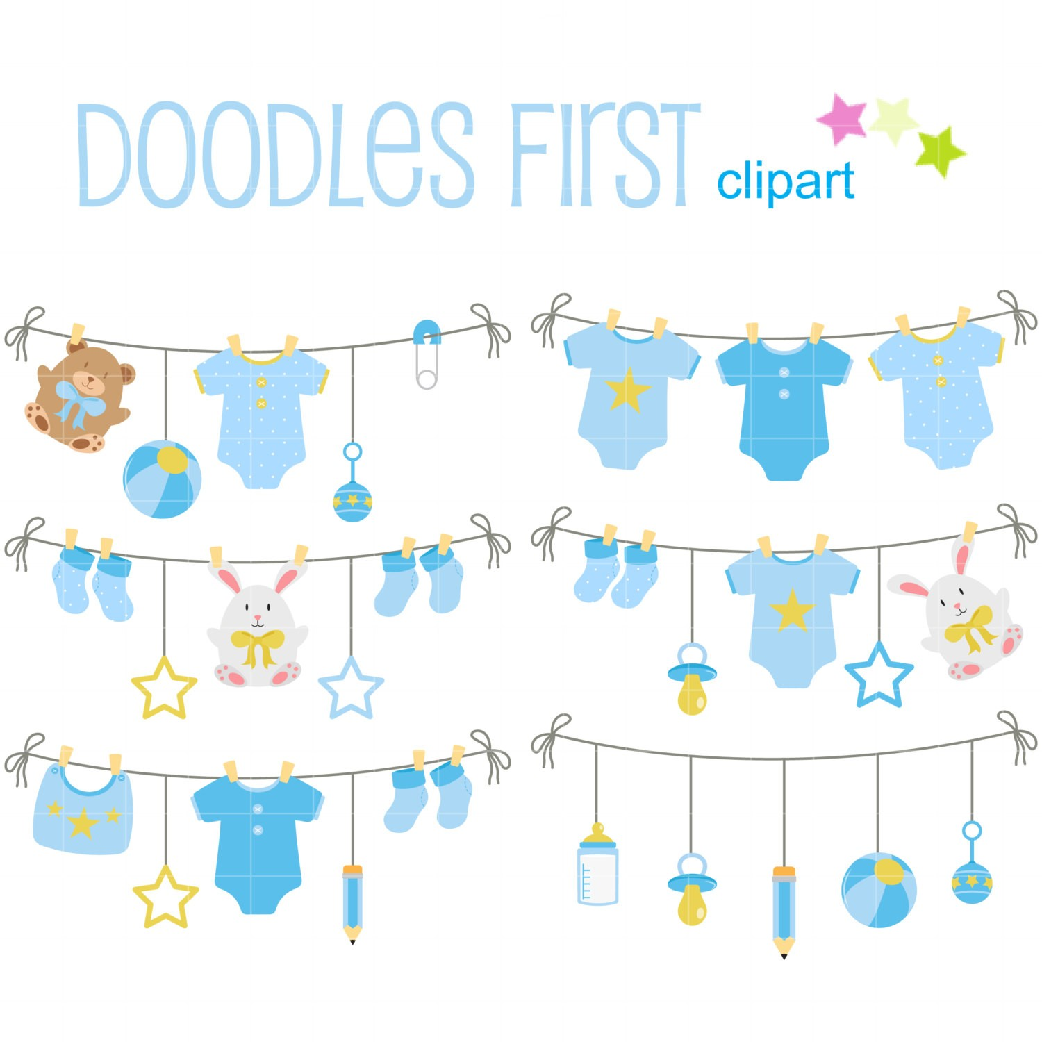 Free Diaper Clothesline Cliparts Download Free Clip Art