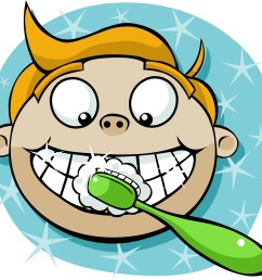 brushing teeth clip art brush [ 1600 x 1549 Pixel ]
