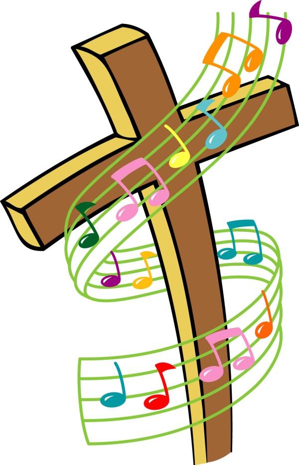 free gospel music cliparts