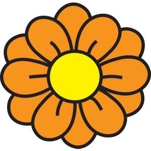 free cartoon flowers cliparts