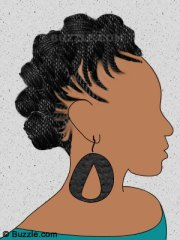 free hair braid cliparts