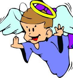 cartoon angel clipart [ 1618 x 1183 Pixel ]