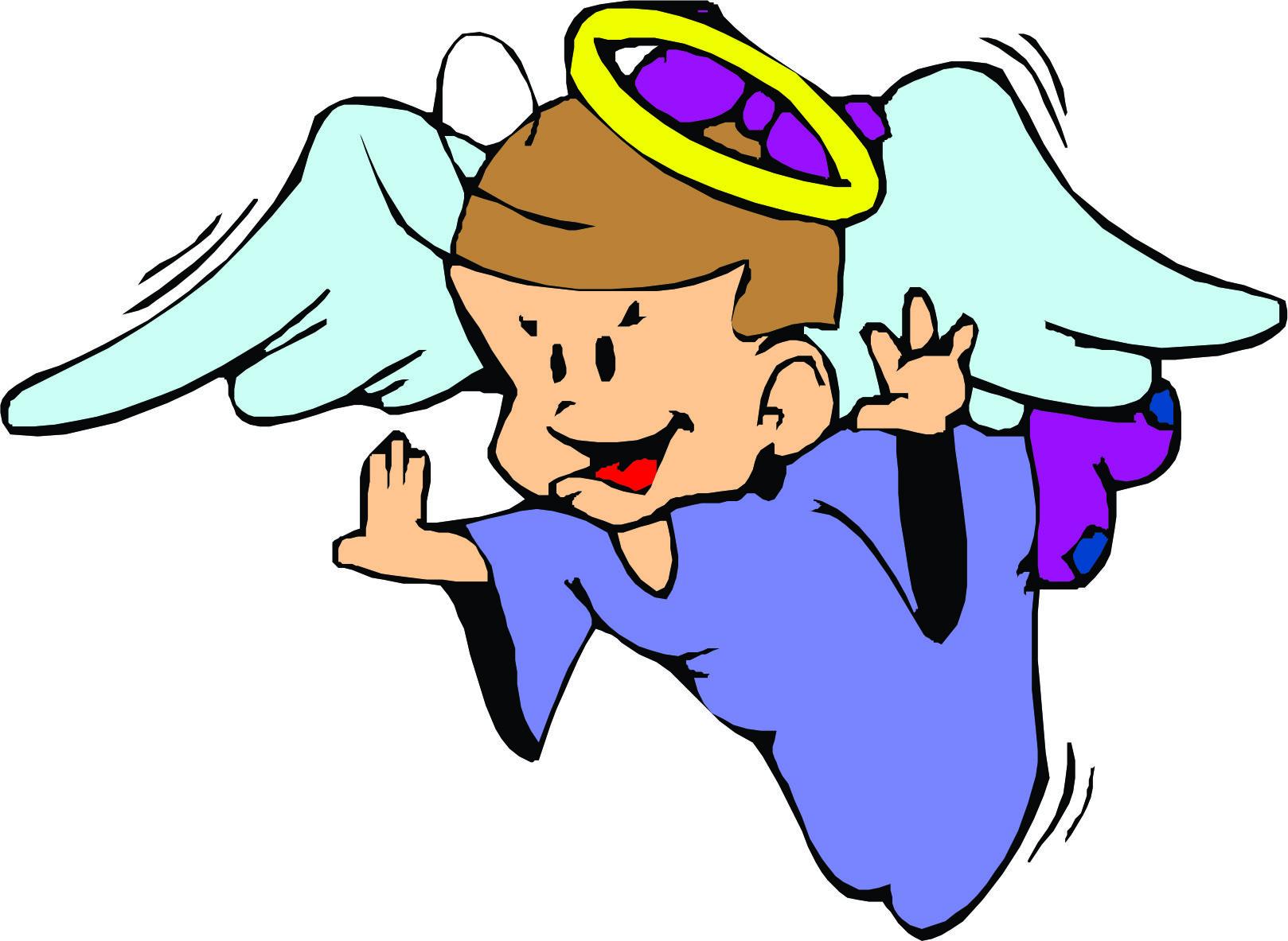 hight resolution of cartoon angel clipart