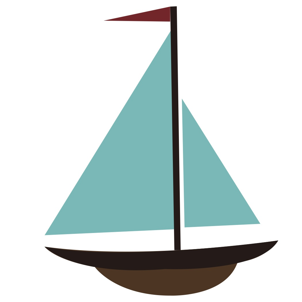 hight resolution of simple sailboat clipart sail