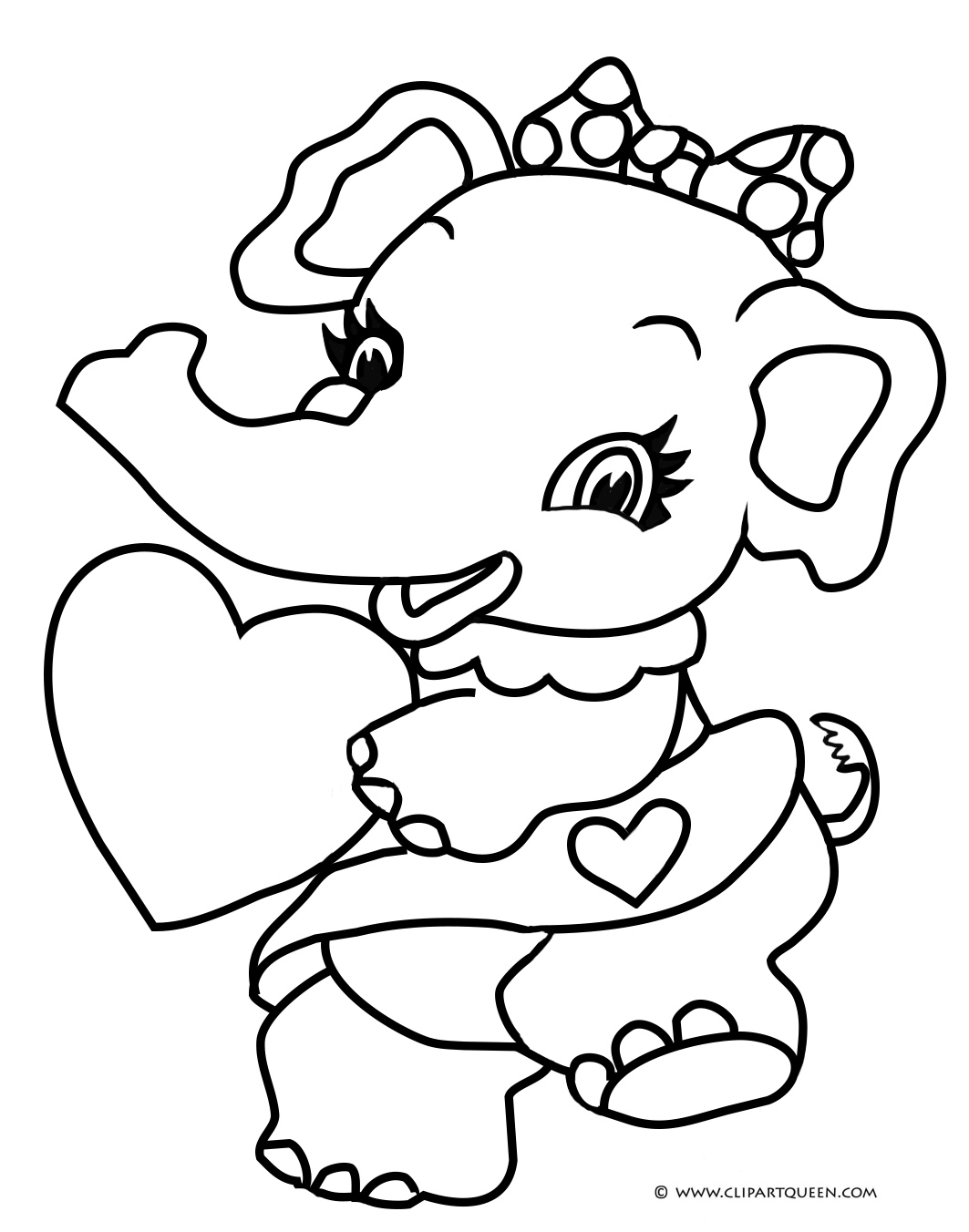 11 Valentine Amp Day Coloring Pages
