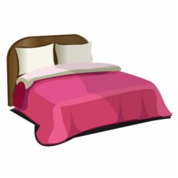 pink bed clip art Clip Art Library