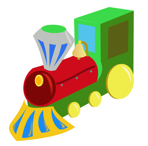 small resolution of christmas train clipart