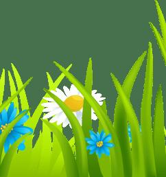 grass border clipart png [ 3400 x 1035 Pixel ]