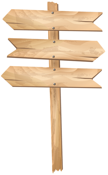 free wood sign cliparts