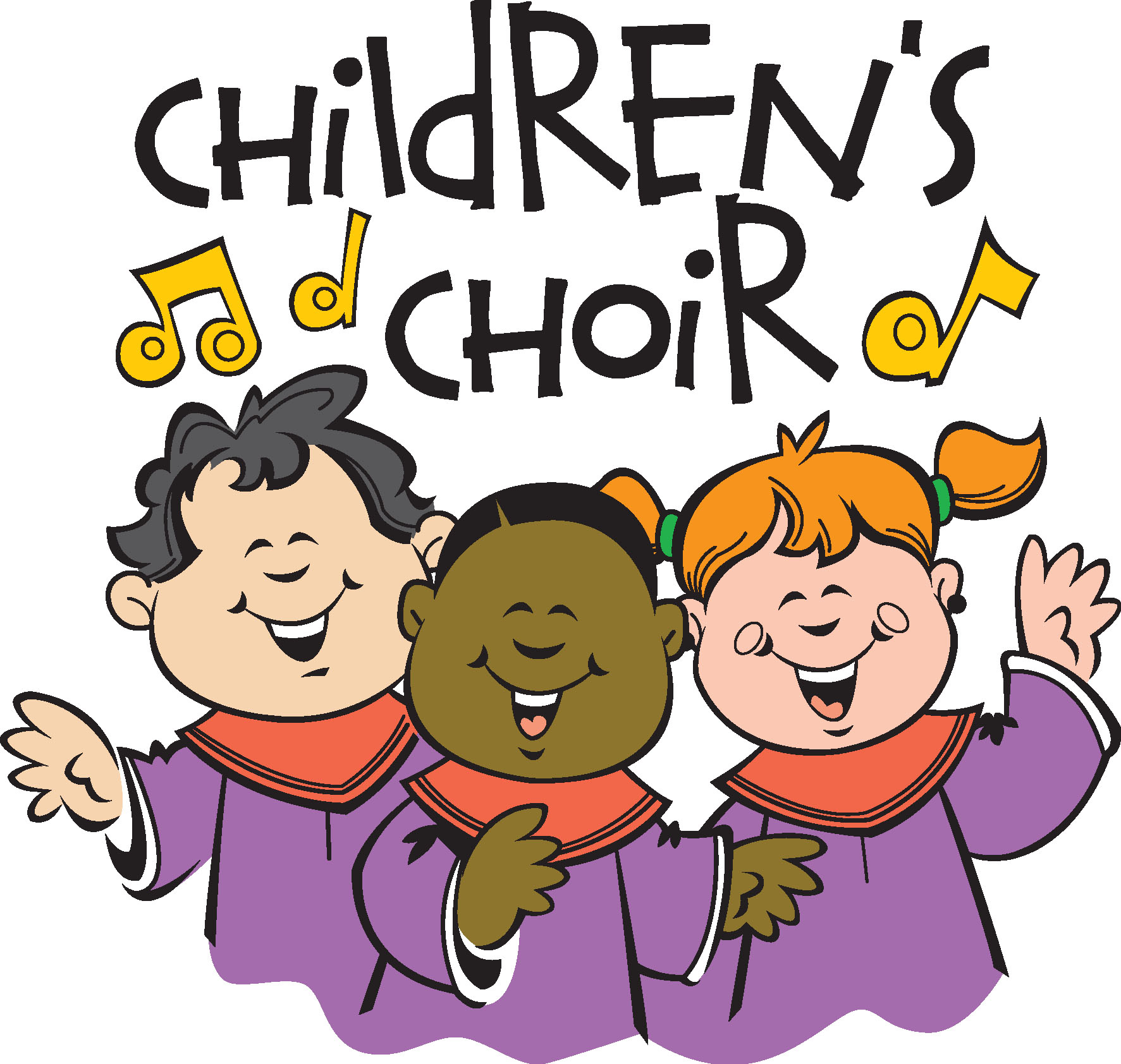 hight resolution of clipart of choir singing church