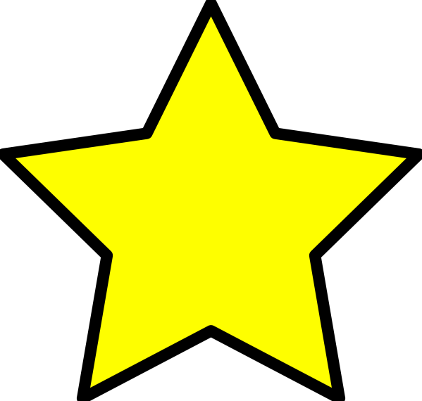 free star cliparts