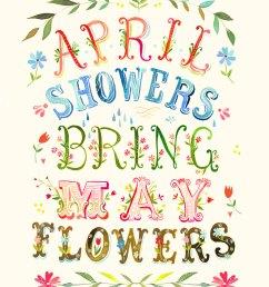 clipart for april showers clipart [ 800 x 1000 Pixel ]