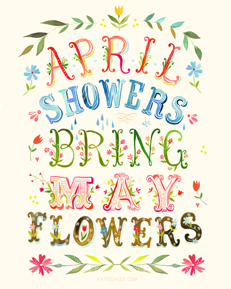 hight resolution of clipart for april showers clipart