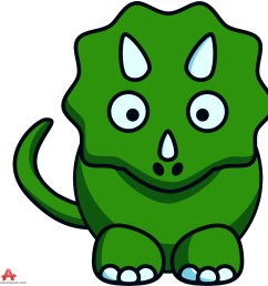 dinosaur cartoon clip art [ 997 x 999 Pixel ]