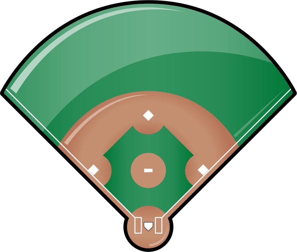 medium resolution of softball diamond clipart