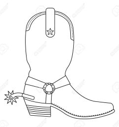 clipart western boots 34  [ 1300 x 1222 Pixel ]