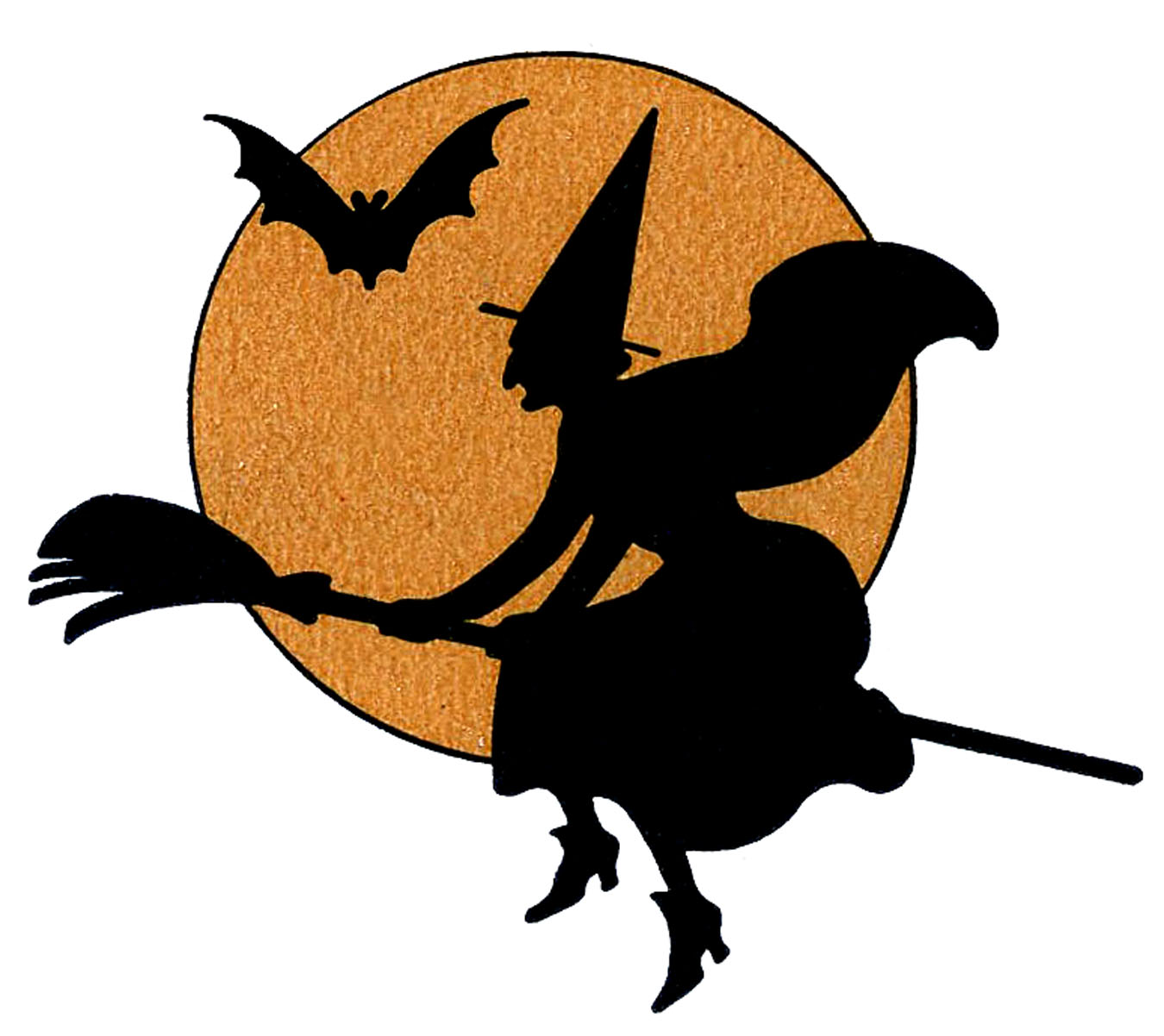 hight resolution of picture of a halloween witch