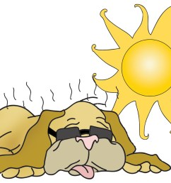 dog days of august clipart [ 1500 x 1125 Pixel ]
