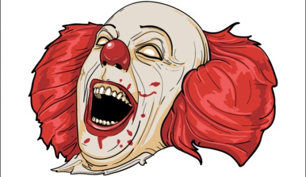 free halloween clown cliparts