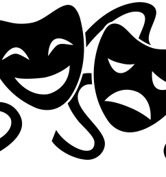 free emotional mask cliparts download free clip art free clip art png 8600x5101 theatre clipart field [ 8600 x 5101 Pixel ]