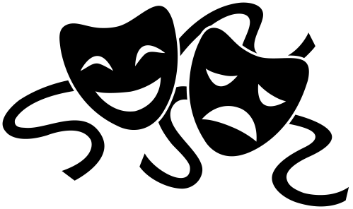 small resolution of free emotional mask cliparts download free clip art free clip art png 8600x5101 theatre clipart field