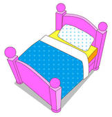 bed for kids clipart Clip Art Library