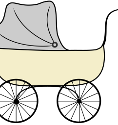 baby buggy clipart image [ 1500 x 1328 Pixel ]