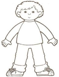 body clipart boy coloring pages lds clip children nursery cliparts library child boys printable church preschool painting lessons primary getcolorings