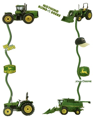 John Deere Cartoon : deere, cartoon, Deere, Tractors, Library