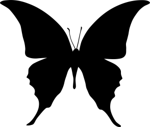 Free Silhouette Of A Butterfly Download Free Clip Art Free Clip Art on Clipart Library